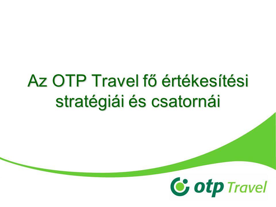 Az OTP Travel fő értékesítési stratégiái és csatornái
