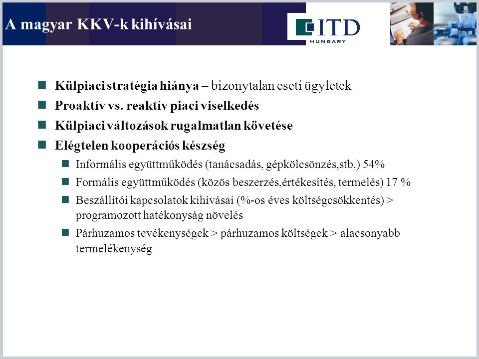 A magyar KKV-k kihívásai