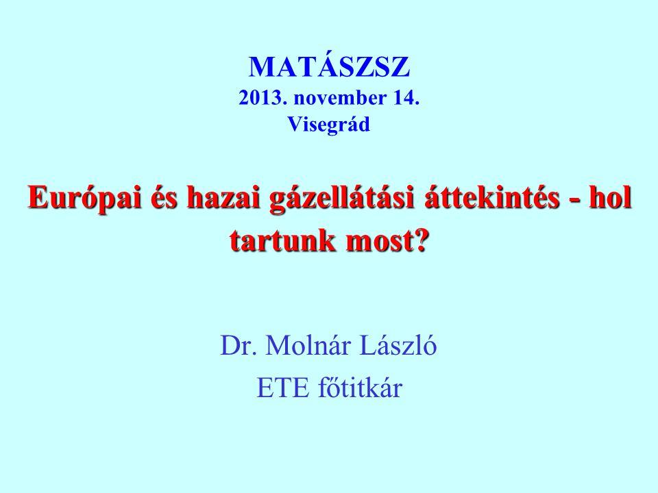 Dr. Molnár László ETE főtitkár