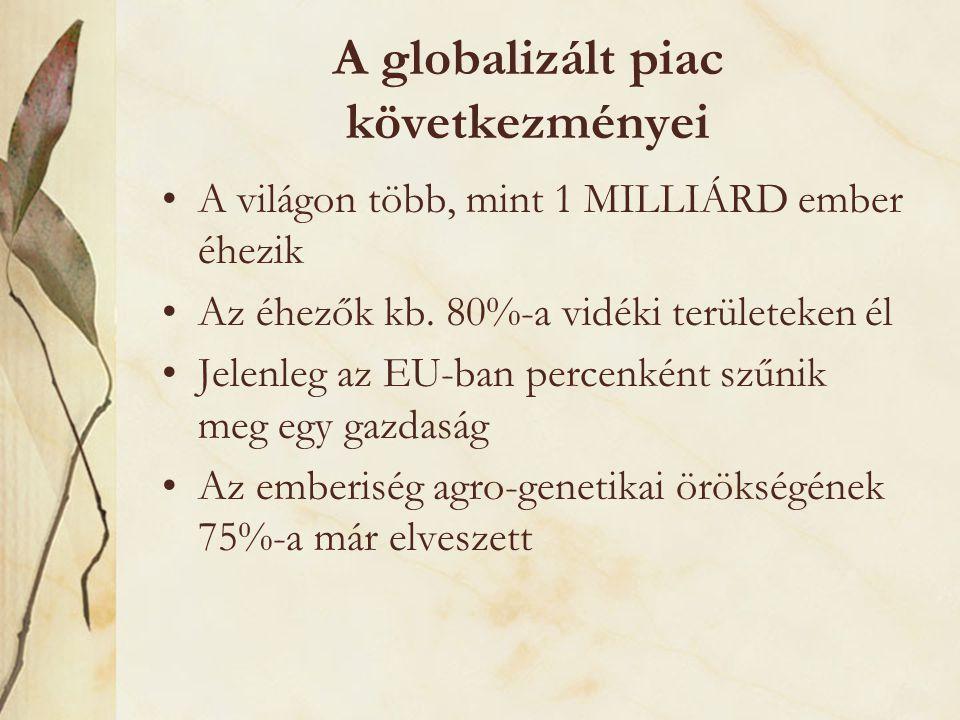 A globalizált piac következményei