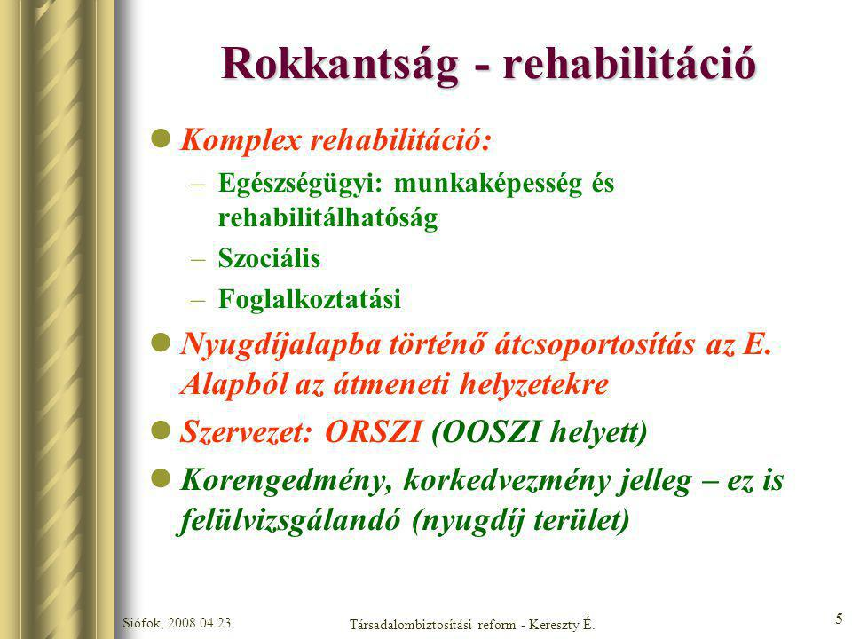 Rokkantság - rehabilitáció