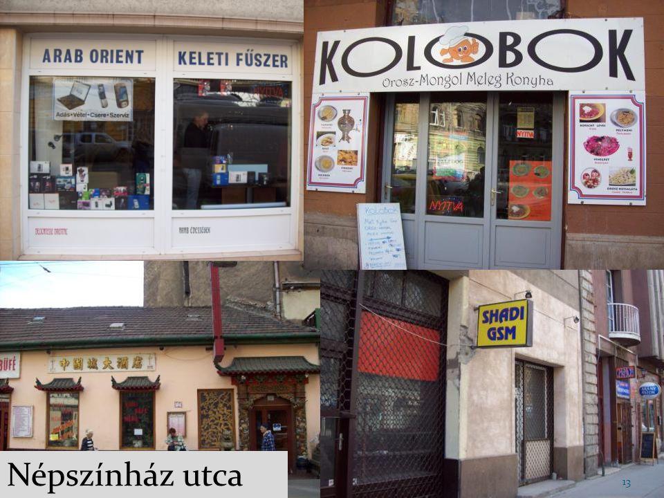 Lakó-, és munkakörnyékként is szolgál bevándorlóknak és magyaroknak is