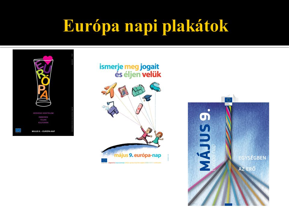 Európa napi plakátok