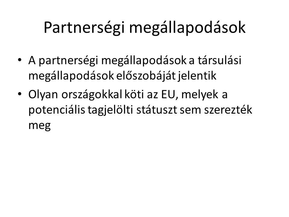 Partnerségi megállapodások