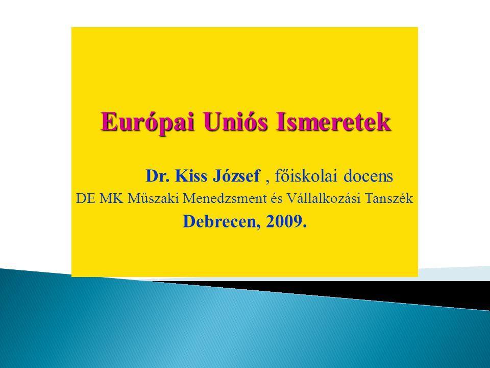 Európai Uniós Ismeretek