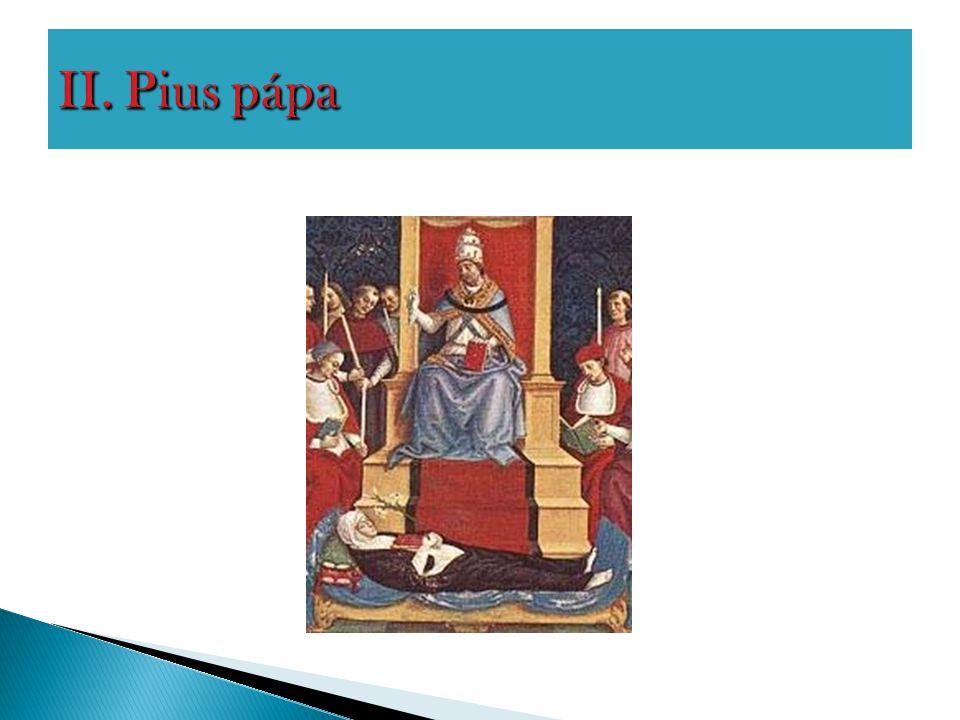 II. Pius pápa