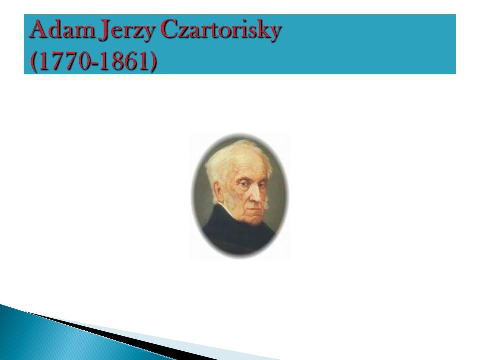 Adam Jerzy Czartorisky (1770-1861)