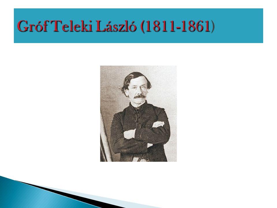 Gróf Teleki László (1811-1861)