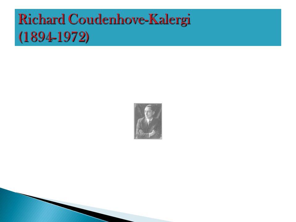 Richard Coudenhove-Kalergi (1894-1972)