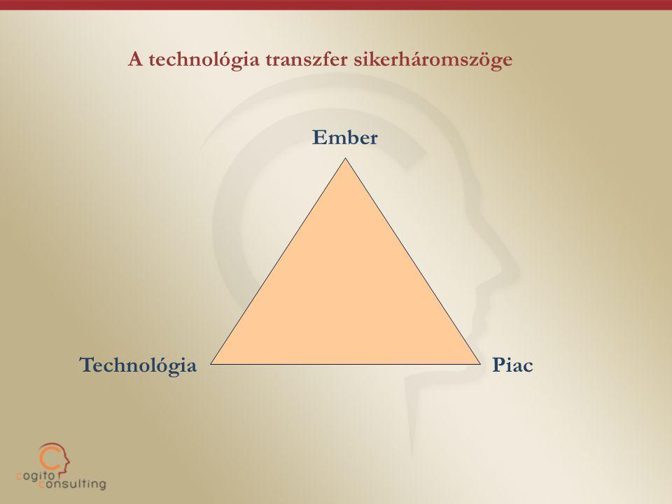 A technológia transzfer sikerháromszöge