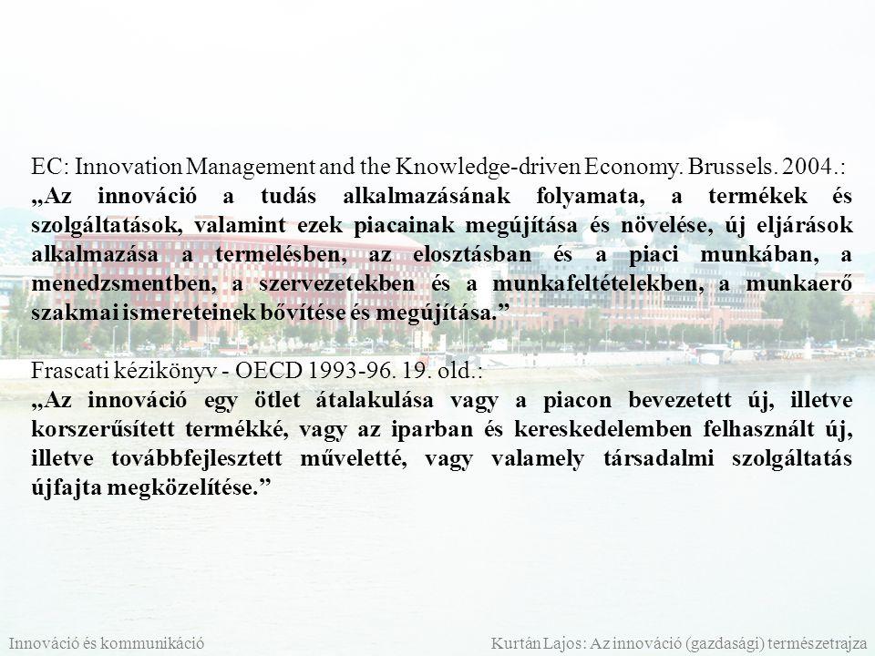 Frascati kézikönyv - OECD 1993-96. 19. old.: