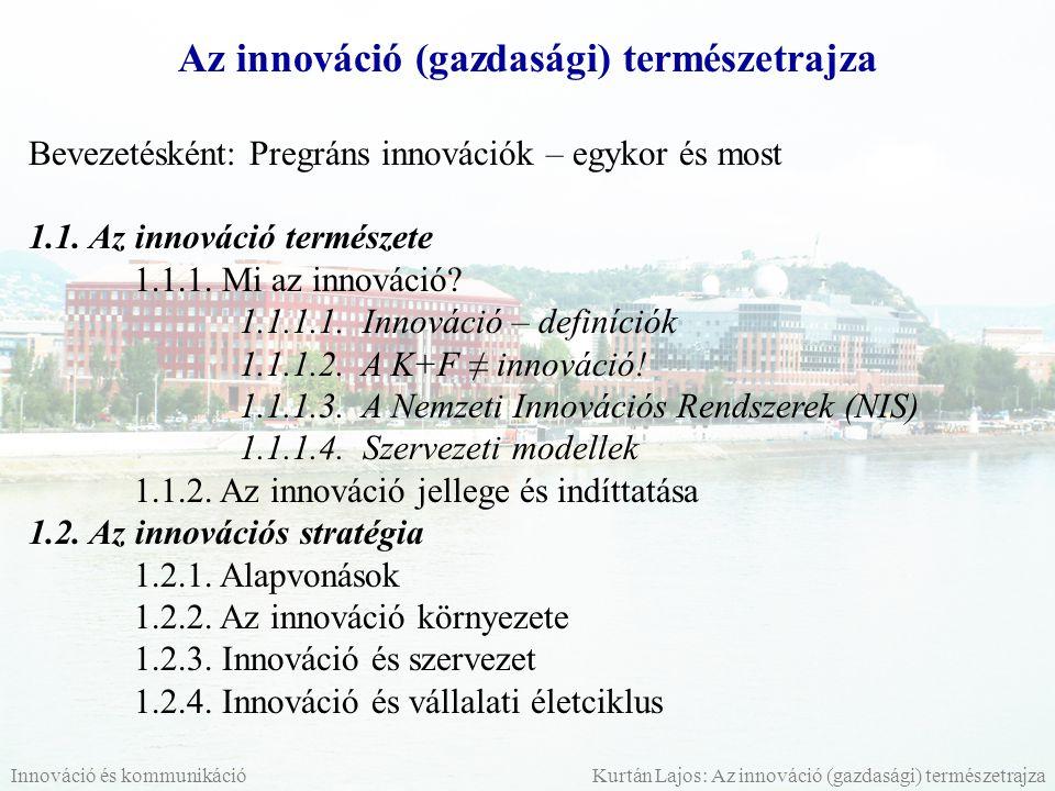 Az innováció (gazdasági) természetrajza