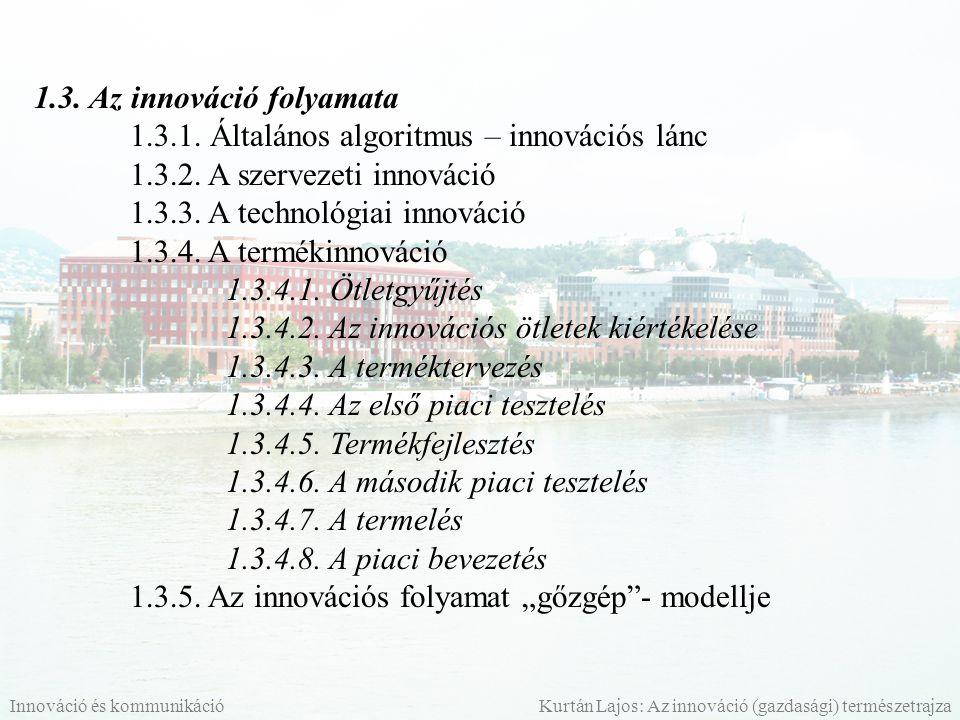 1.3. Az innováció folyamata