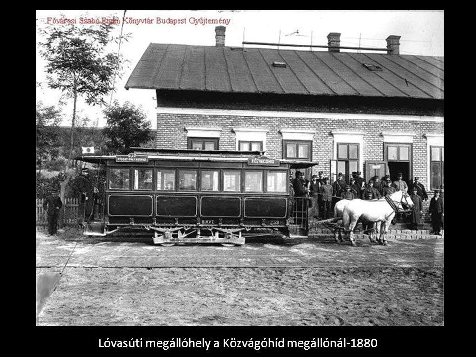 Lóvasúti megállóhely a Közvágóhíd megállónál-1880