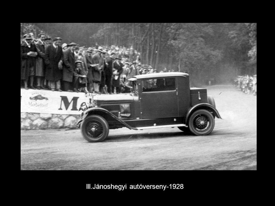 lll.Jánoshegyi autóverseny-1928