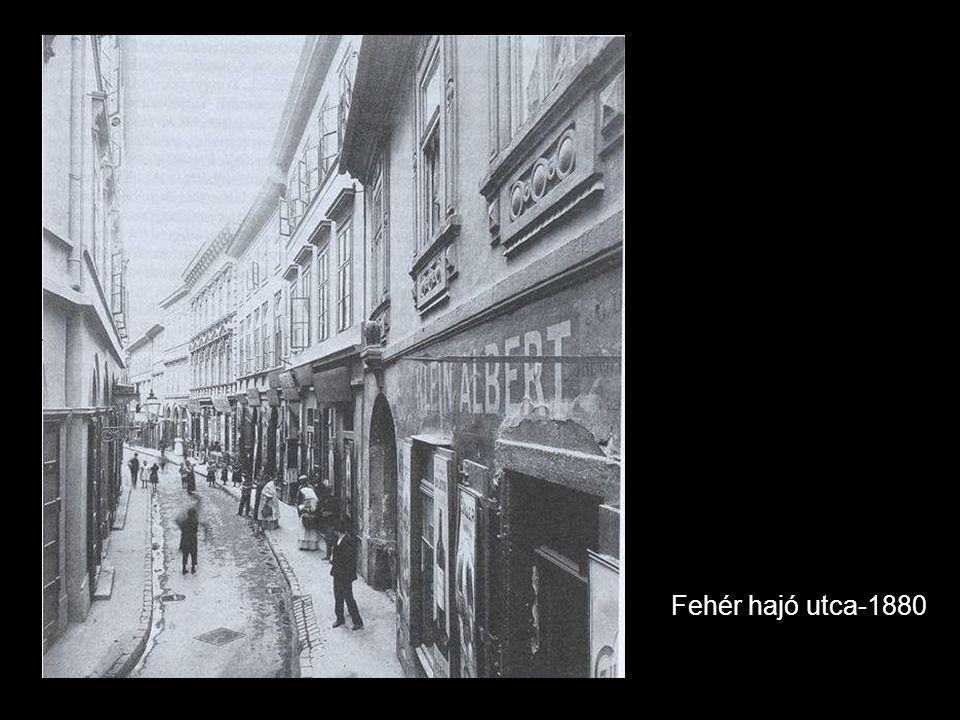 Fehér hajó utca-1880