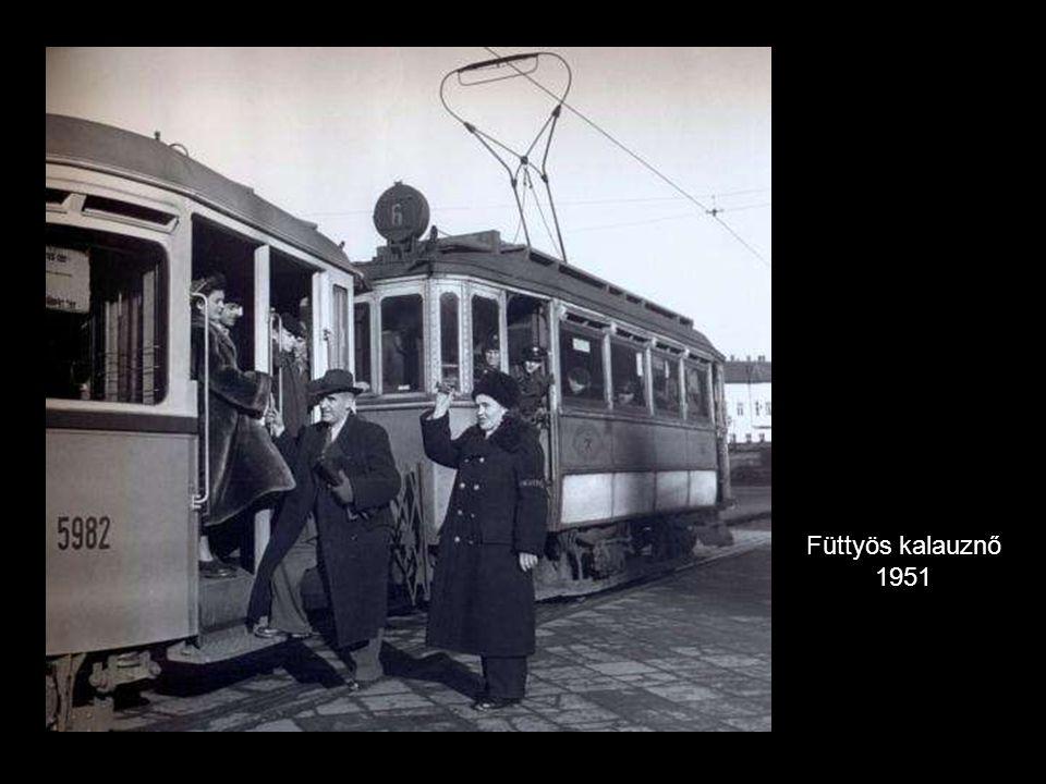 Füttyös kalauznő 1951