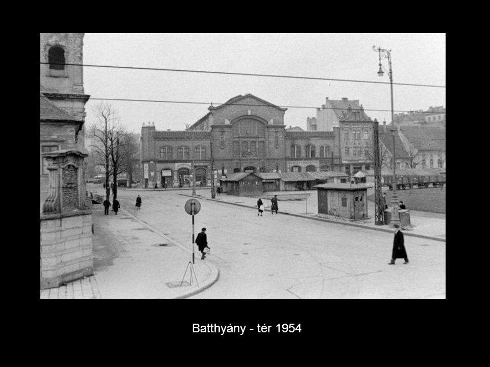 Batthyány - tér 1954.