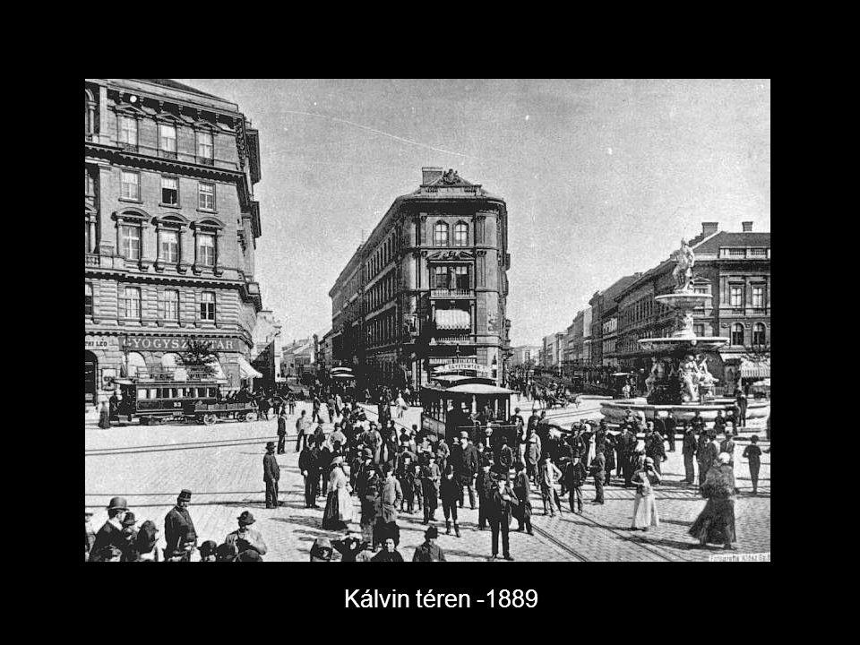Kálvin téren -1889