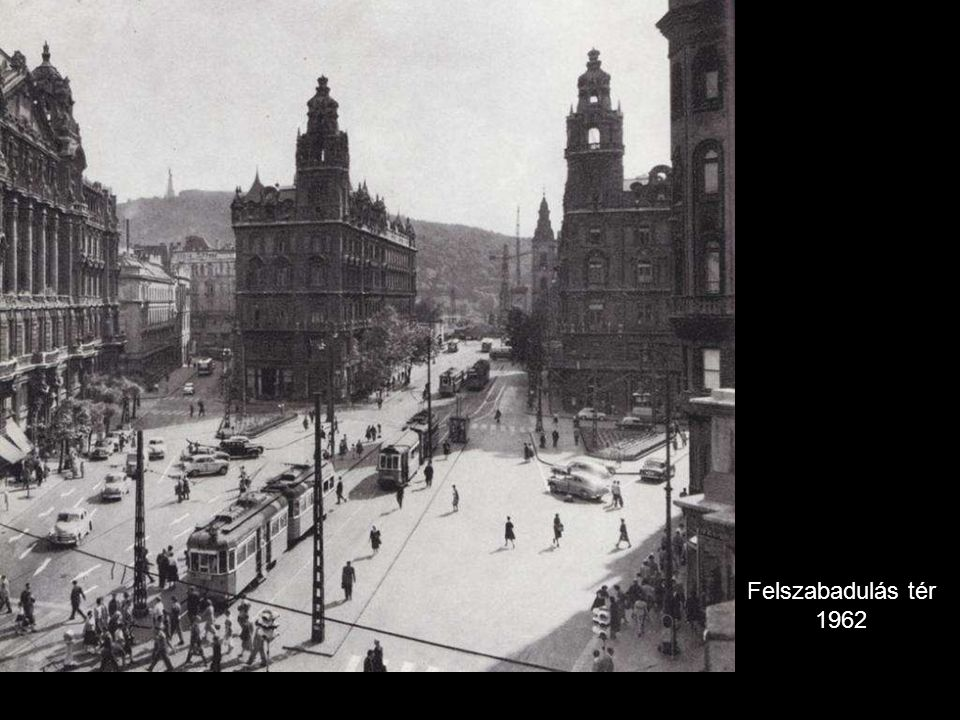 Felszabadulás tér 1962