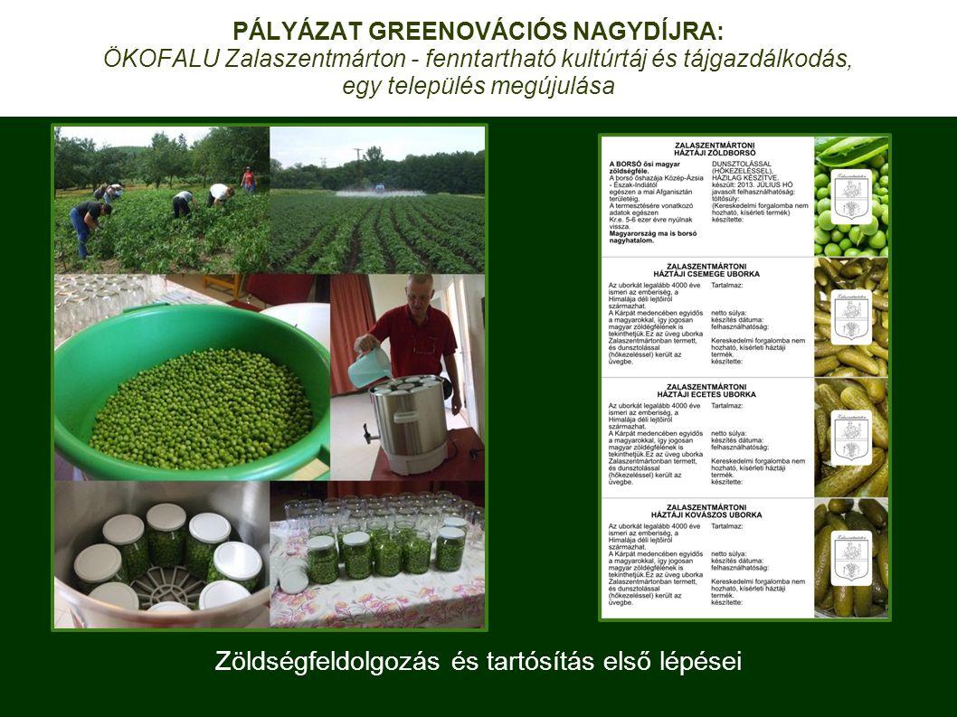Zöldségfeldolgozás és tartósítás első lépései