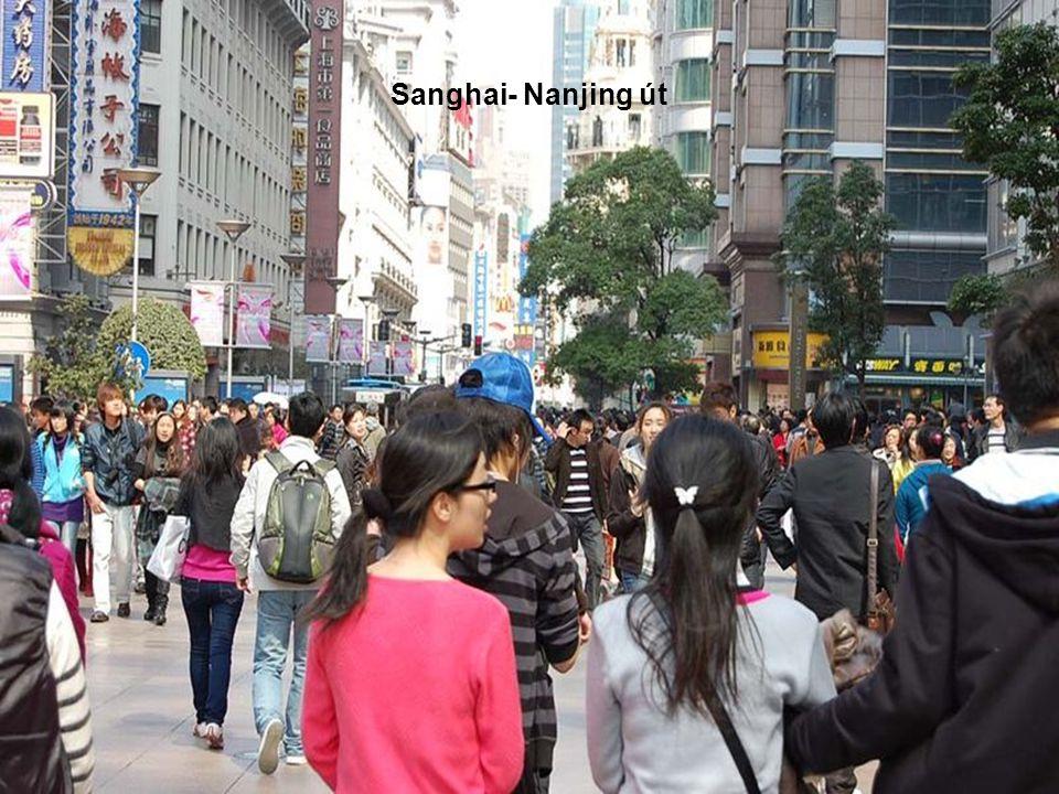 Sanghai- Nanjing út