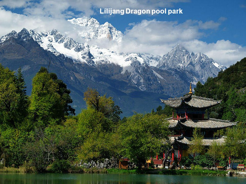 Lílijang Dragon pool park