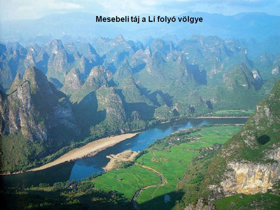Mesebeli táj a Lí folyó völgye