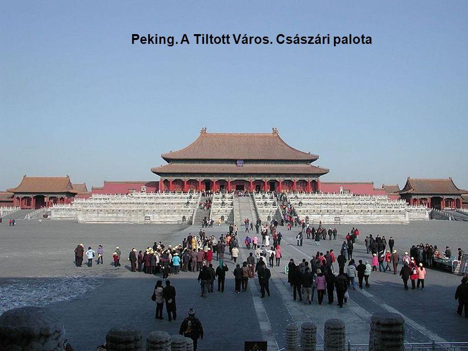 Peking. A Tiltott Város. Császári palota