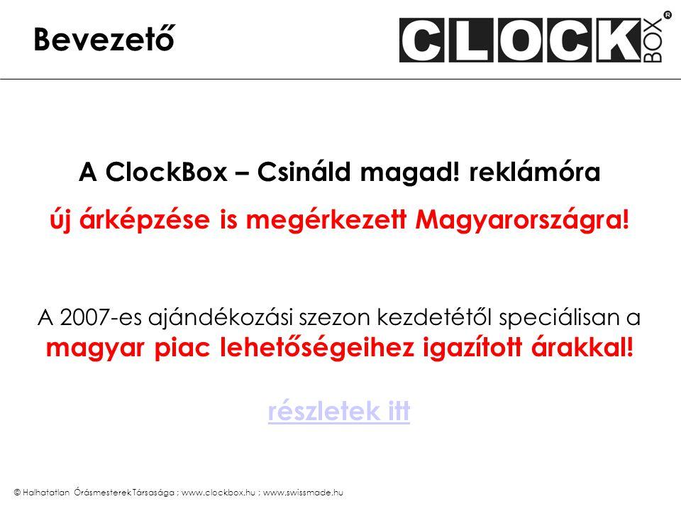 Mi a ClockBox reklámóra – de nem a szokványos :-) férfi kvarcóra