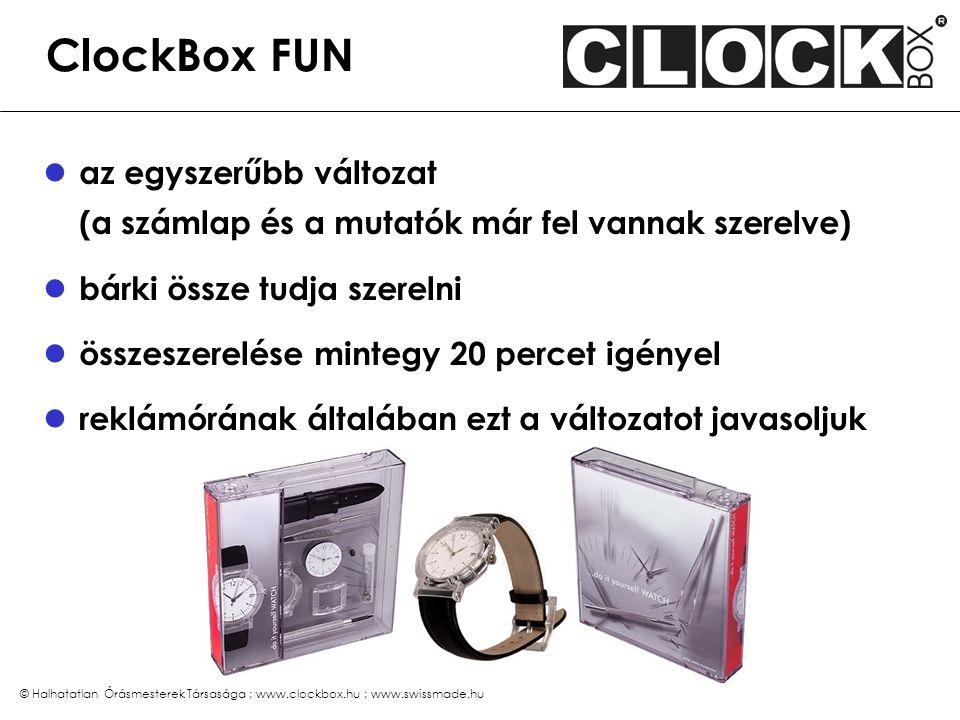 ClockBox PRO a bonyolultabb változat