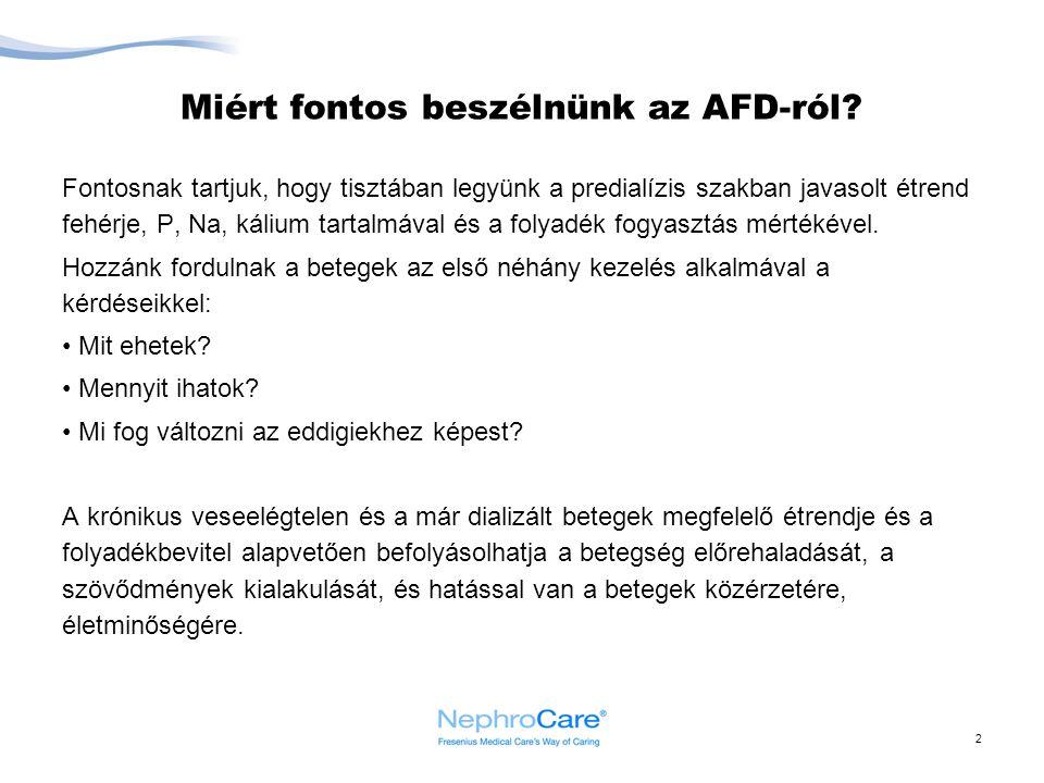 Miért fontos beszélnünk az AFD-ról