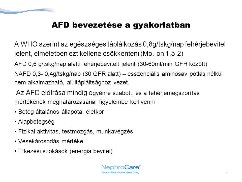AFD bevezetése a gyakorlatban