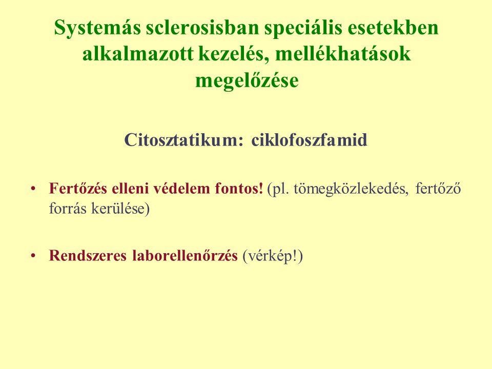 Citosztatikum: ciklofoszfamid