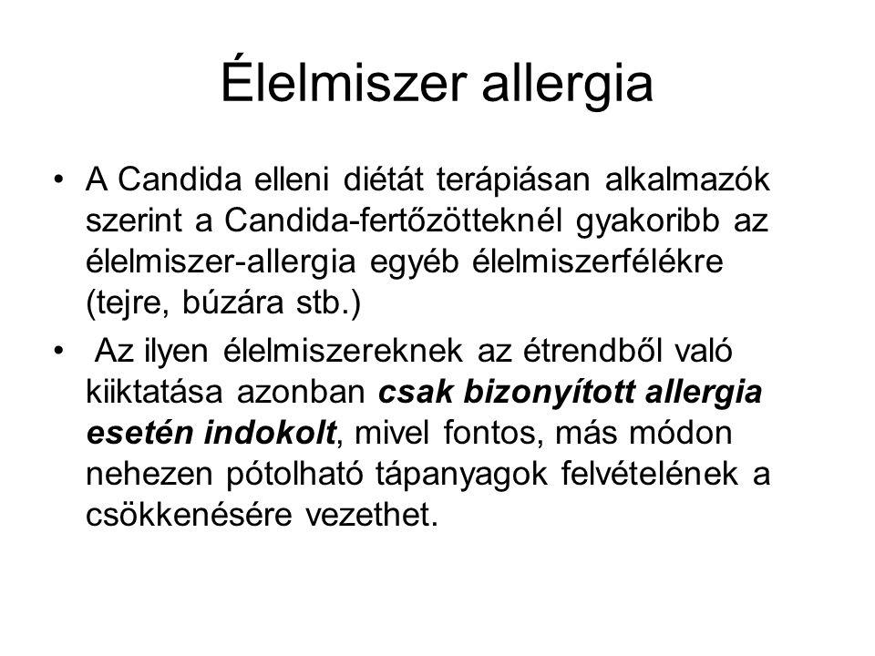 Élelmiszer allergia