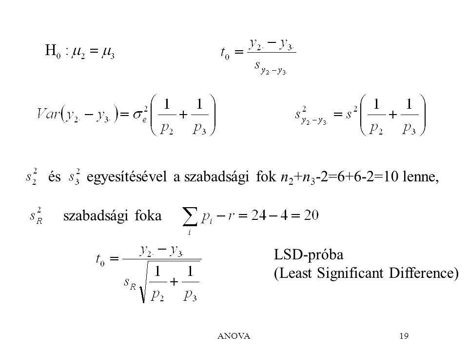 egyesítésével a szabadsági fok n2+n3-2=6+6-2=10 lenne, és
