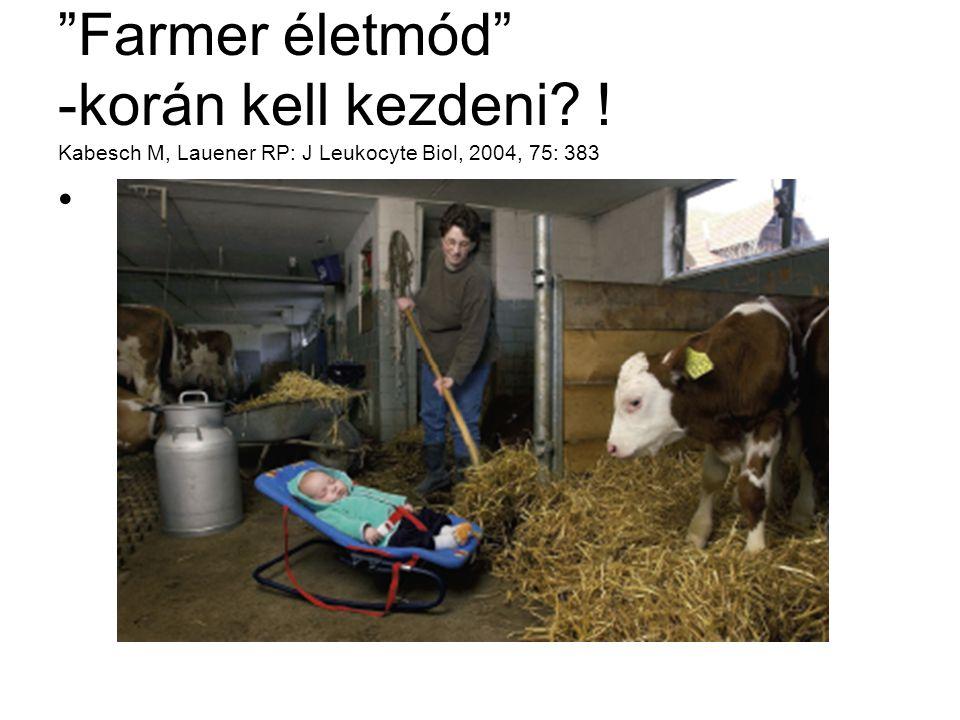 Farmer életmód -korán kell kezdeni
