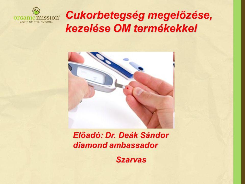 Cukorbetegség megelőzése, kezelése OM termékekkel