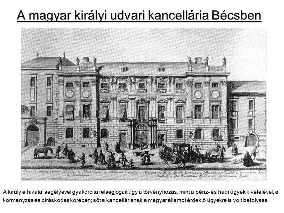 A magyar királyi udvari kancellária Bécsben