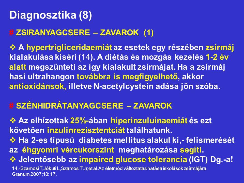 Diagnosztika (8) # ZSIRANYAGCSERE – ZAVAROK (1)