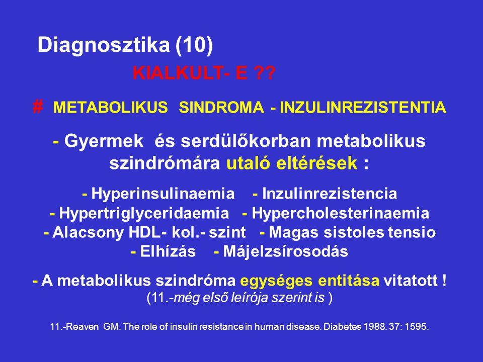 Diagnosztika (10) KIALKULT- E