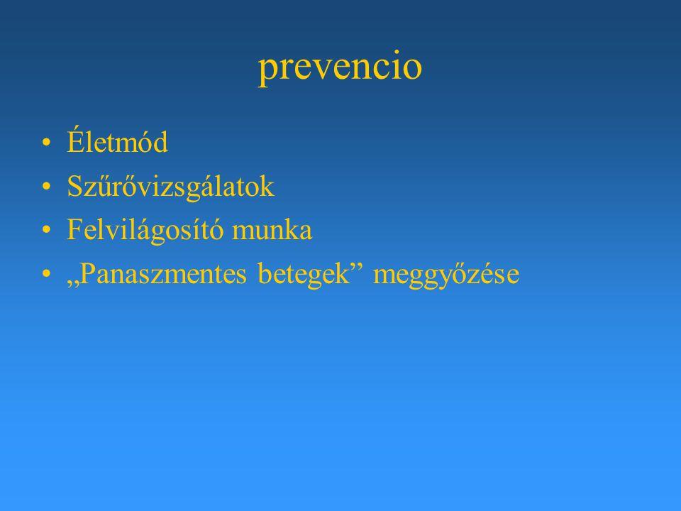 prevencio Életmód Szűrővizsgálatok Felvilágosító munka