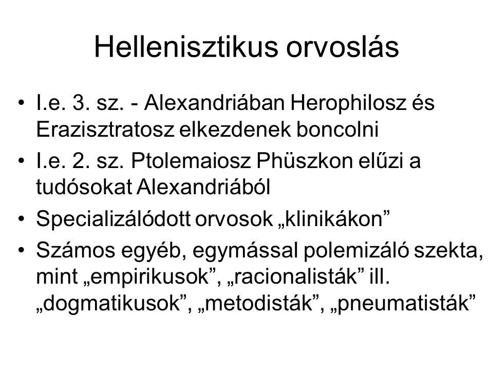 Hellenisztikus orvoslás