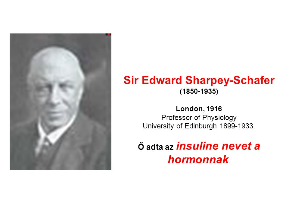 Sir Edward Sharpey-Schafer (1850-1935) London, 1916