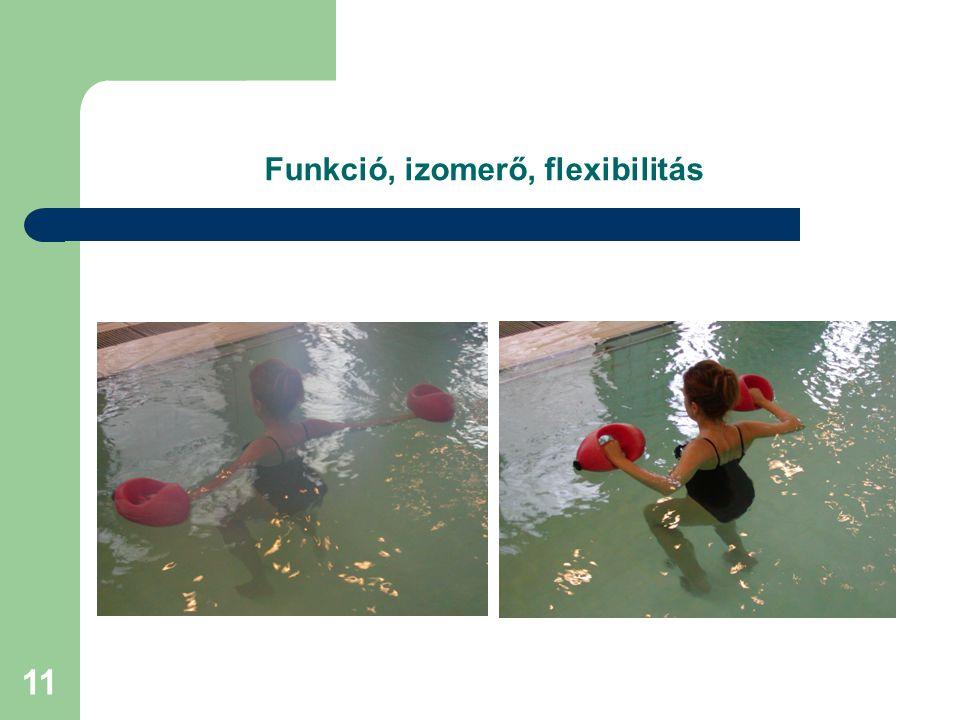 Funkció, izomerő, flexibilitás
