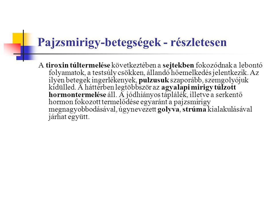Pajzsmirigy-betegségek - részletesen