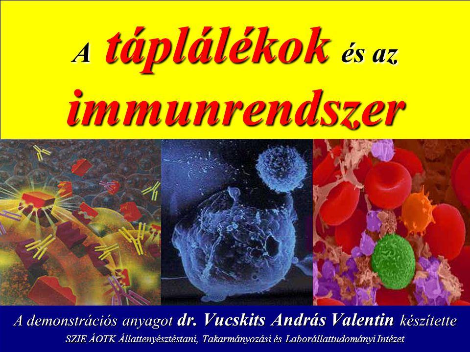 A táplálékok és az immunrendszer