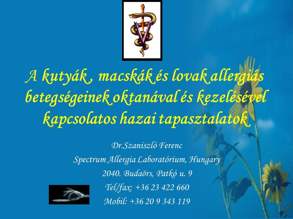 Spectrum Allergia Laboratórium, Hungary