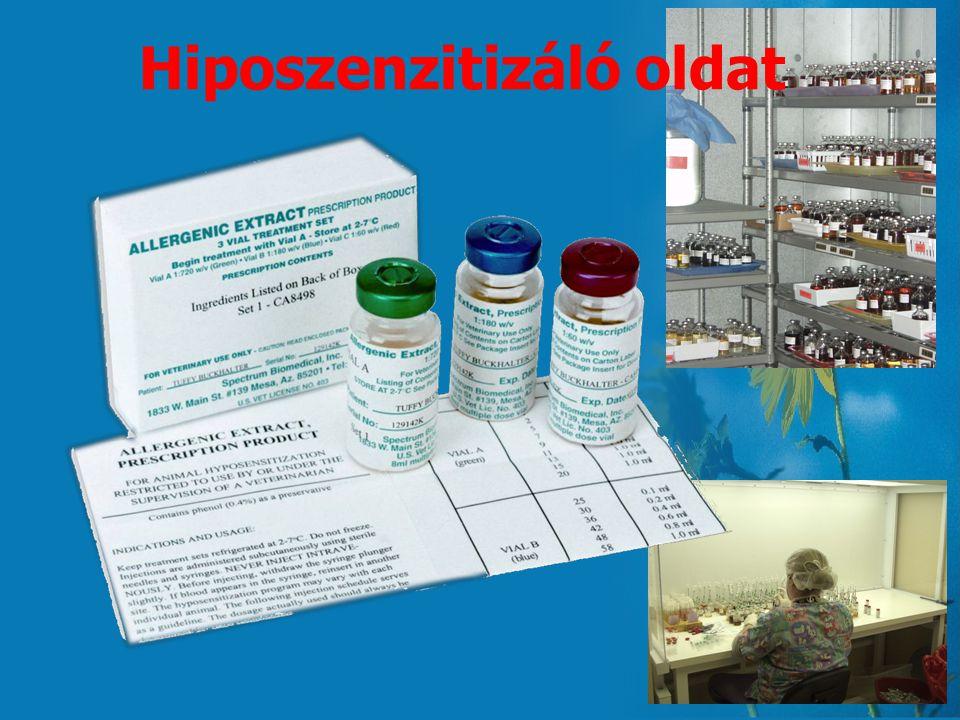 Hiposzenzitizáló oldat