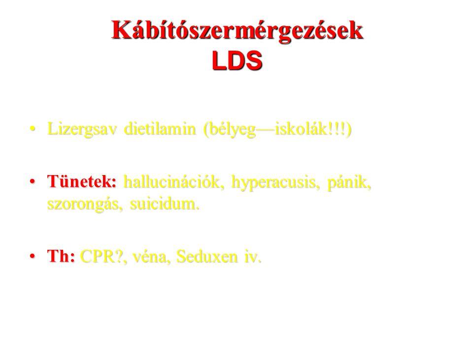 Kábítószermérgezések LDS